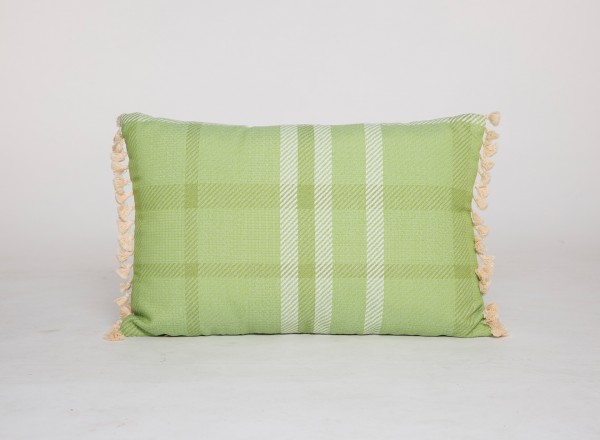Tierra Outdoor Pillow Nectarine Green 60 x 40 cm