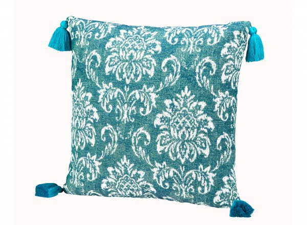 Tierra Outdoor Pillow Blue Jazmin 45 x 45 cm
