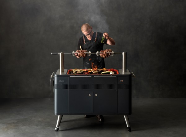 Everdure Hub Barbecue Electrisch sfeerfoto