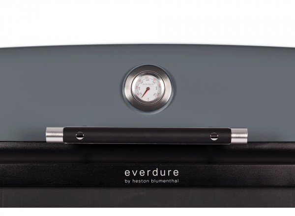Everdure Furnace Barbecue Gas België 37 mBar donkergrijs thermometer