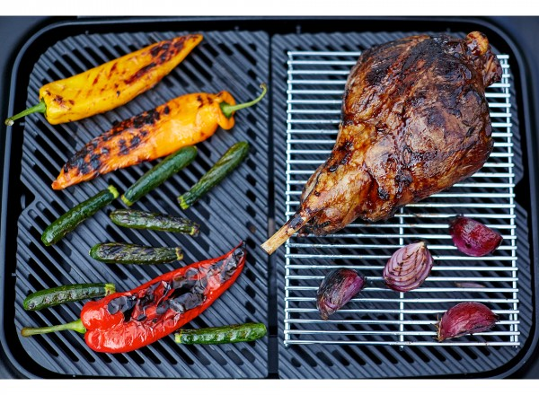 Everdure Force Barbecue Gas België 37 mBar blauw grillrooster