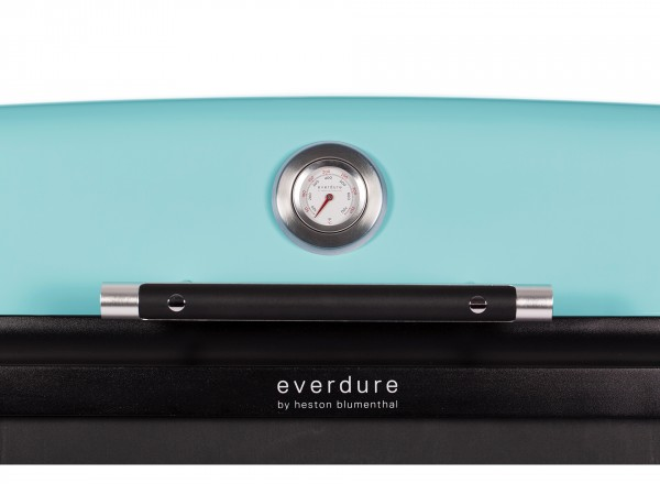 Everdure Furnace Barbecue Gas 30 mBar blauw thermometer