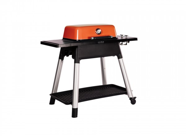 Everdure Force Barbecue Gas 30 mBar oranje zijaanzicht