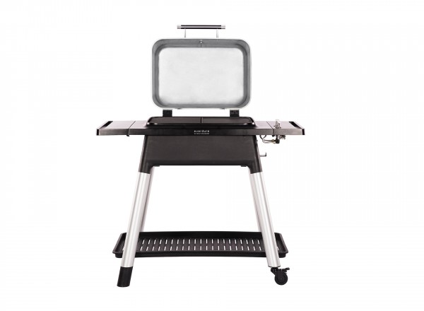 Everdure Force Barbecue Gas 30 mBar rood open deksel