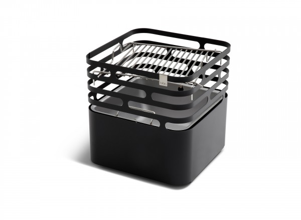 Höfats Cube Grillrooster op lagere stand