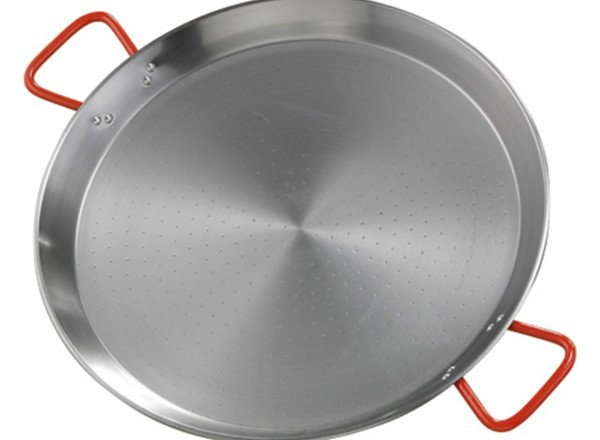 Paella pan staal 50 cm
