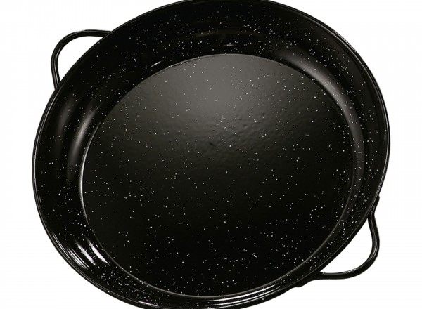 Paella pan emaille 40 cm - 8-12 pers.