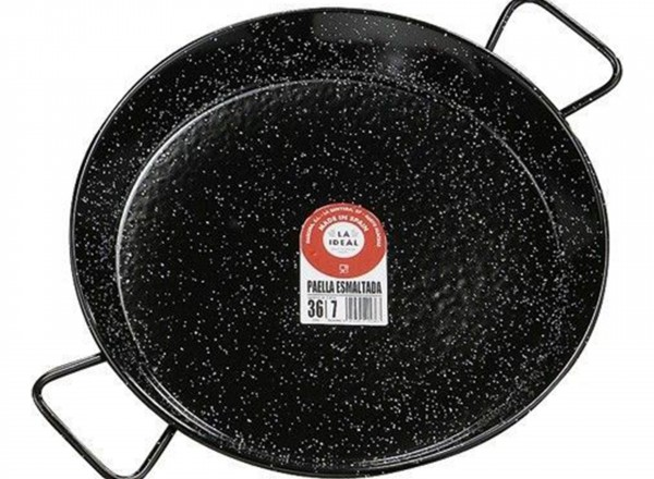 Paella pan emaille 70 cm - 30 pers.