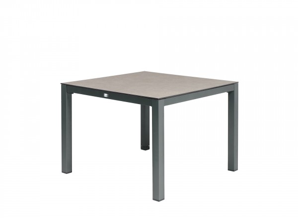 Tierra Outdoor Briga tuintafel antraciet + forest grey 100 x 100 cm