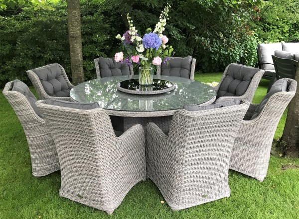 Tierra Outdoor Doncaster complete dining set