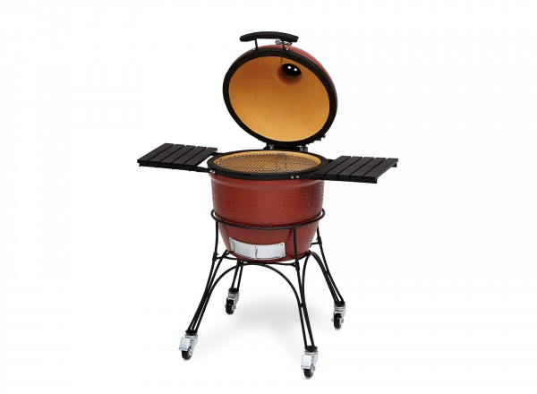 Kamado Joe Classic Barbecue  met open deksel