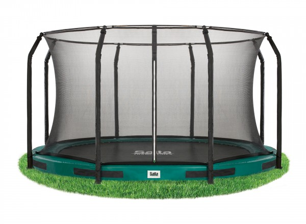 Salta Trampolines Excellent Ground - Safety Net - 244 cm groen